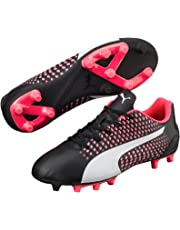 PUMA Boys Adreno III Fg Jr, Black, Football Boots