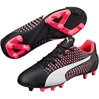 PUMA Boys Adreno III Fg Jr, Black, Football Boots