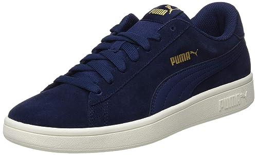 Chaussures Puma Smash V2 Bleu Bleu Achat Vente basket