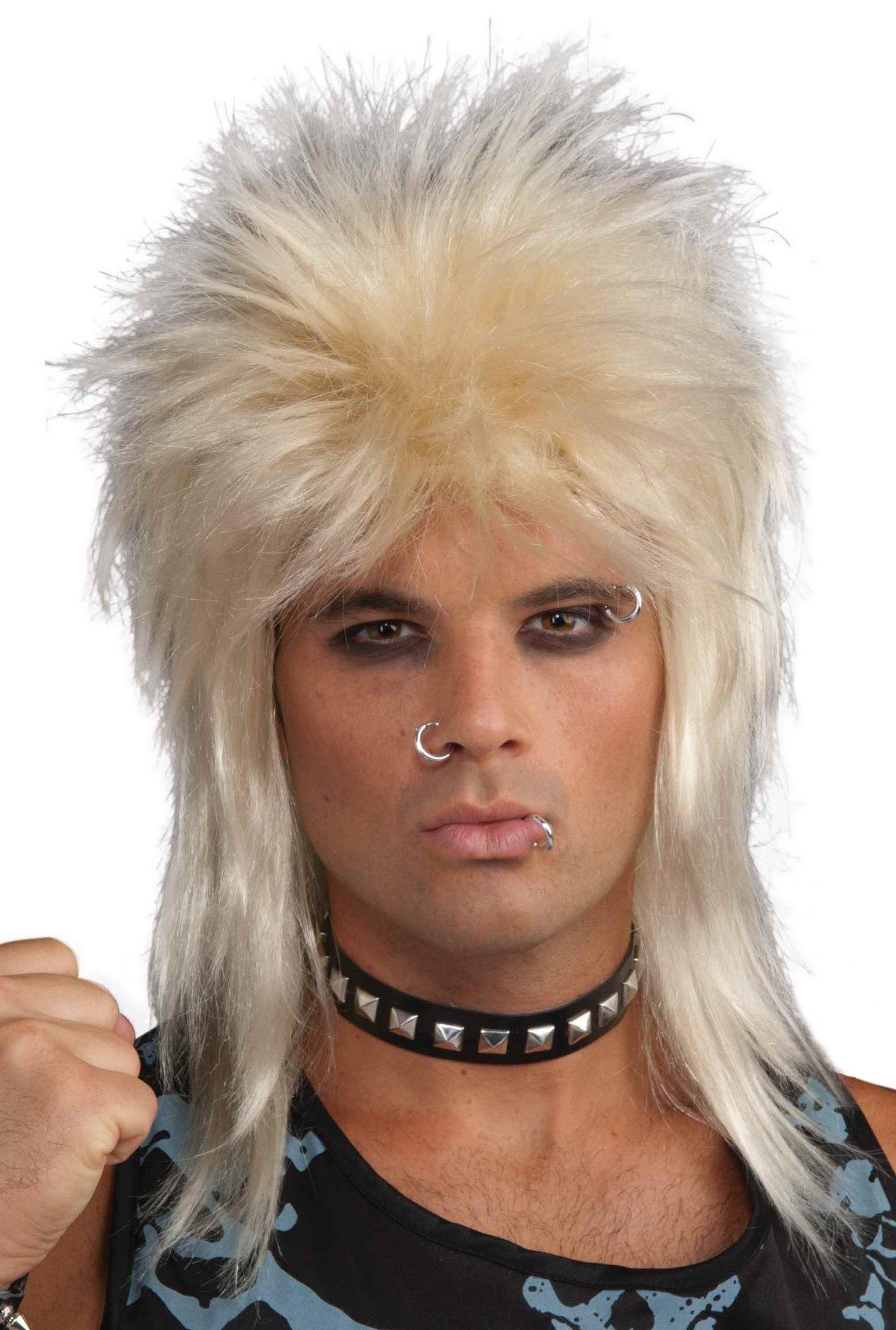 Rock Star Unisex Blonde Wig