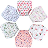 6 Pack Potty Training Pants for Boys Girls, Learning Designs Training Underwear Pants(1T-5.5T)
