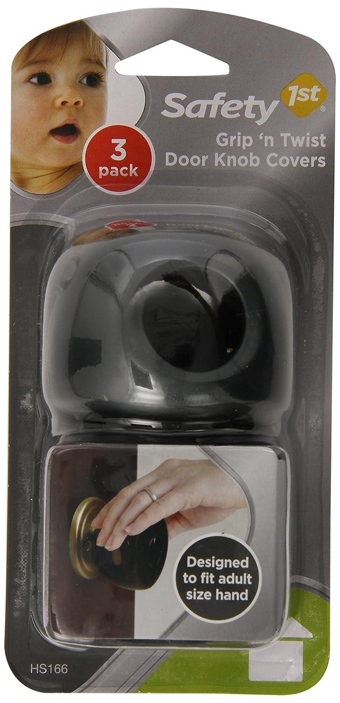 Amazon.com : Safety 1st Grip N' Twist Door Knob Covers, Decor, 3 ...