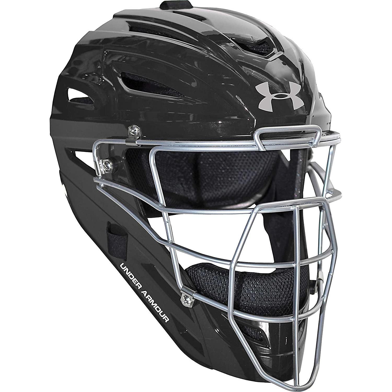 Amazon.com : Under Armour Youth Pro Catchers Helmets ...