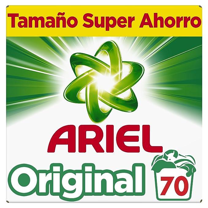 Ariel Original Detergente en polvo, 70 lavados, 4.550 kg: Amazon ...
