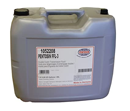 Amazon.com: Pentosin 1052208 FFL-3 Synthetic Double Clutch (PDK) Transmission Fluid, 20 Liter: Automotive