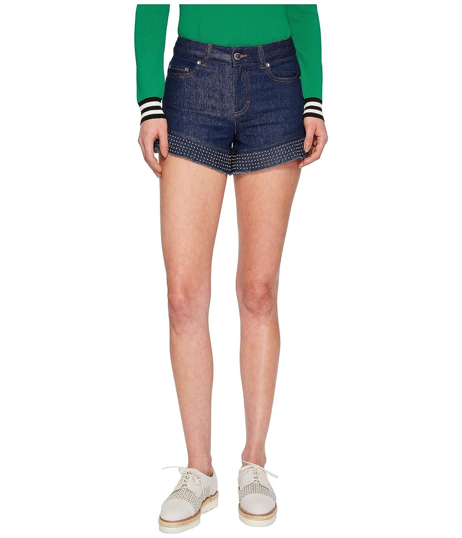 [レッドヴァレンティノ] レディース ハーフ&ショーツ Denim Shorts with Studs [並行輸入品] B078XBJQ6Q 48x3.5