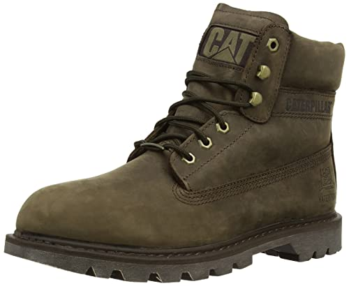 CAT Footwear Men's Watershed Waterproof Combat Boots P717963 Bitterroot 12  UK