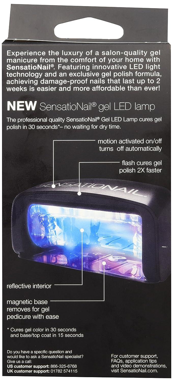 Amazon.com: New SensatioNail Gel Led Lamp, 11.5 Ounce (Packaging ...