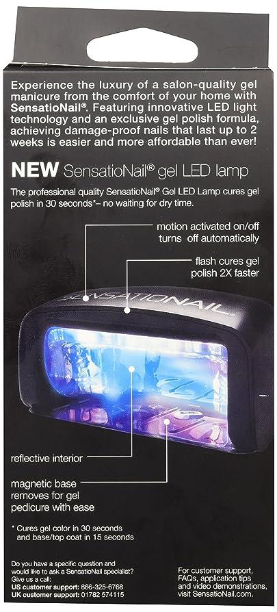 SENSATIONAIL Gel Polish, Pro 3060 Led Lamp in Box: Amazon.co.uk ...