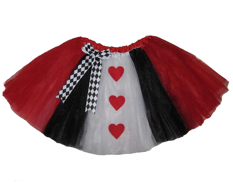 Adult Long Queen of Hearts Tutu