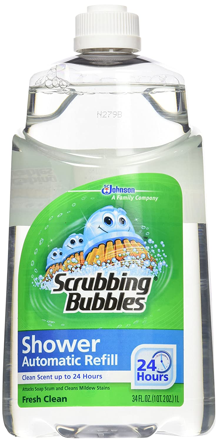 Scrubbing Bubbles Automatic Shower Cleaner Refill