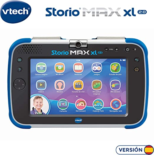 Amazon.es: VTech Storio MAX XL 2.0 - Tablet educativo multifunción ...