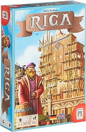 OSTIA-Spiele GbR OSTRI001 Riga - Red Comercial de Poder, Juego de Tablero: Amazon.es: Juguetes y juegos