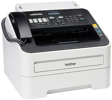 amazon com brother fax 2840 high speed mono laser fax machine