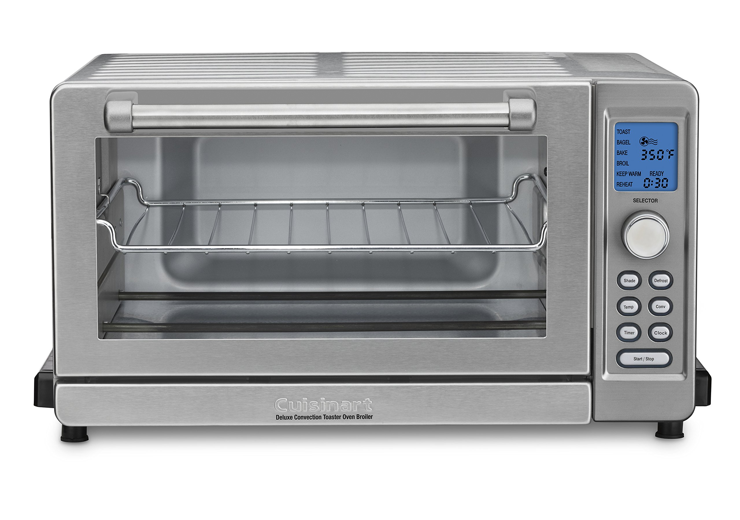 Cuisinart TOB-135N 157 Deluxe Convection Toaster Oven Broiler, One Size Fits All, Stainless steel by Cuisinart