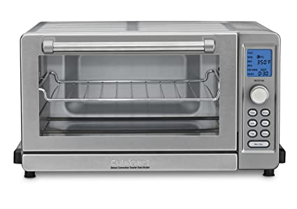 amazon com cuisinart tob 135n deluxe convection toaster oven rh amazon com Cuisinart Toaster Oven Air Fryer Cuisinart Red Toaster