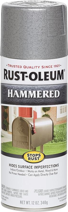 Rust Oleum 7213830 Spray Paint Each Silver