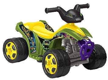 feber 800008672 vhicule electrique quad tortues ninja 6 v