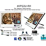 Yiynova MVP22U+RH 21.5インチ フルHD IPSパネル ペンタブレット デジタイザー 液晶モニター VESAスタンド (Windows & Mac対応)