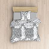 ان فوج حجم مفرد,نسيج قطن,نمط اشكال حيوانات,متعدد الالوان - مجموعات اغطية لحاف السرير