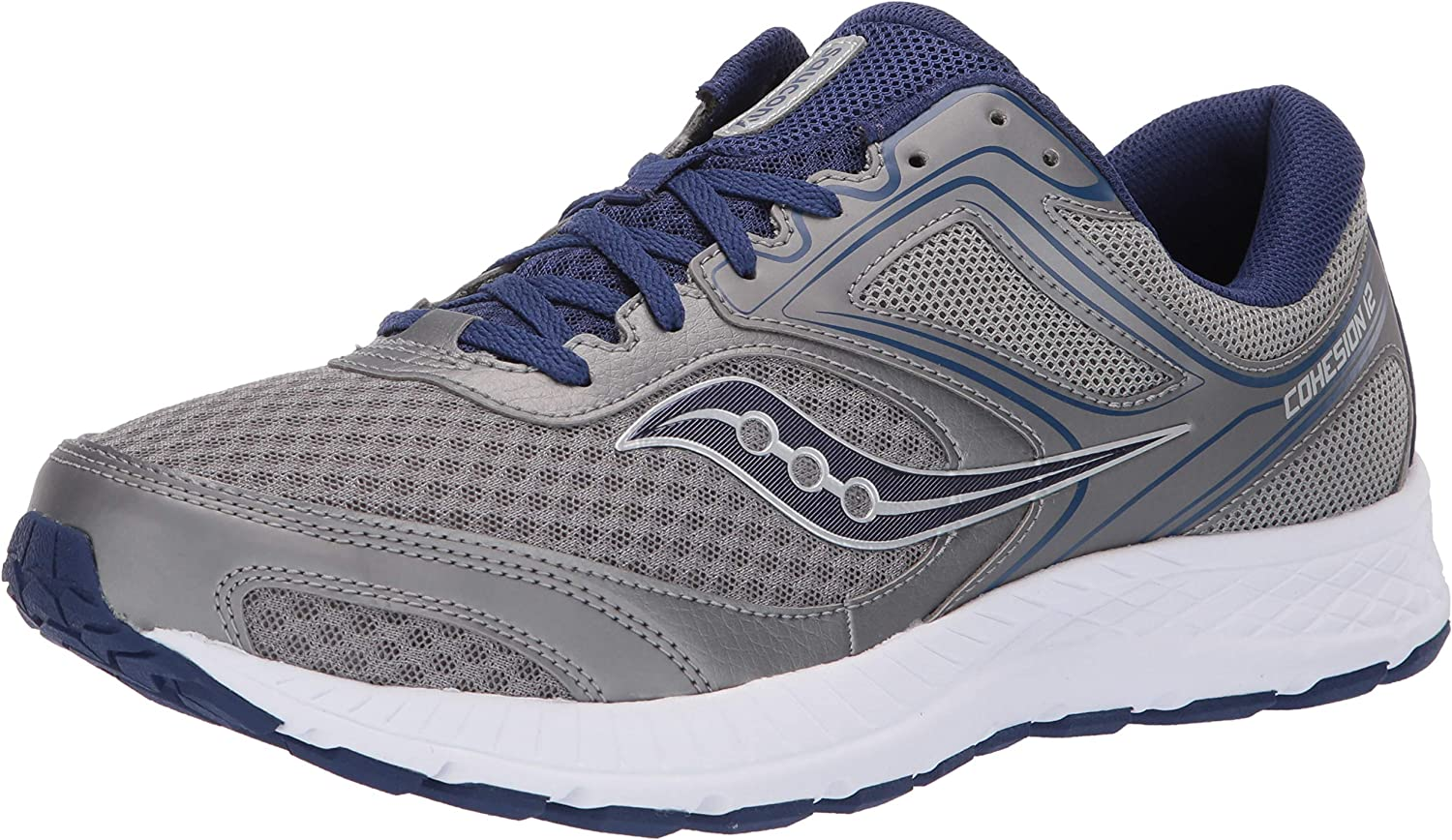 saucony mens cohesion 12 running shoes