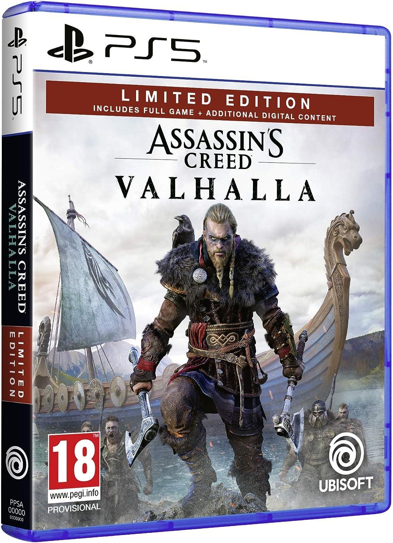assassins creed valhalla ps4 vs ps5