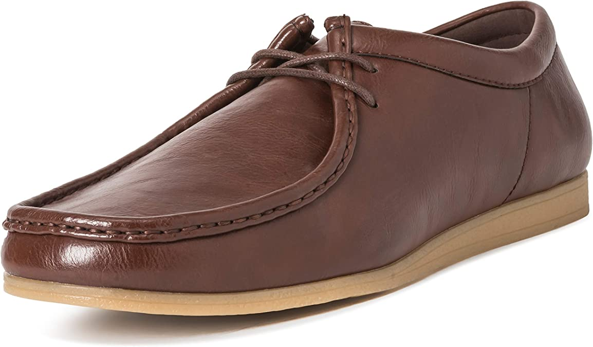 Hombres Queensberry Oscar Wallaby Smart Oficina Desierto Trabajo Loafer Chukka Formal Zapatos