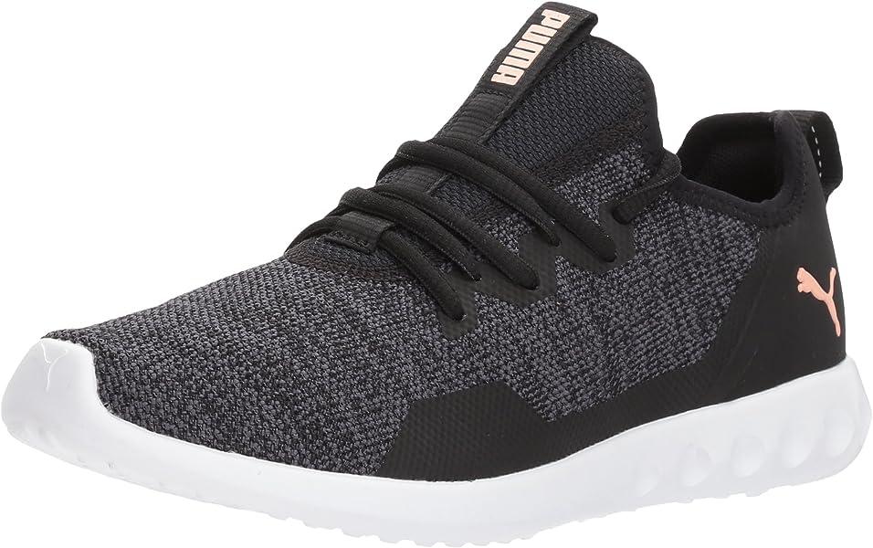 a89214423e41 PUMA Women s Carson 2 X Knit Wn Sneaker Black-Periscope