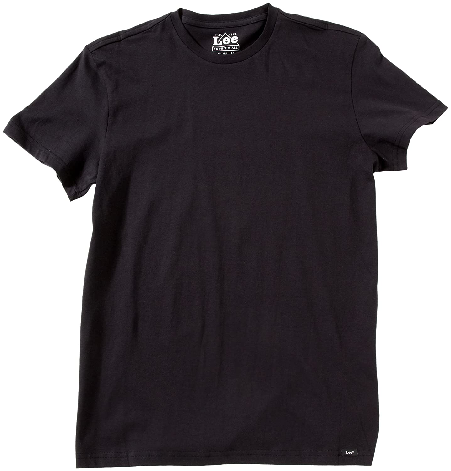 Lee Short Sleeves Twin Pack Black Men's T-Shirt
