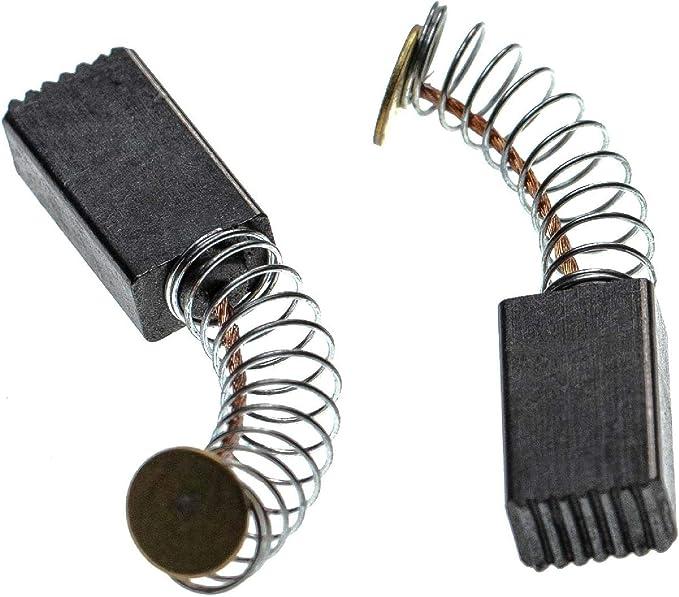 charbon moteur ponceuse orbitale. 5mm x 8mm x 16mm pour outils /électriques comme ponceuse dangle vhbw 2x Balai en charbon