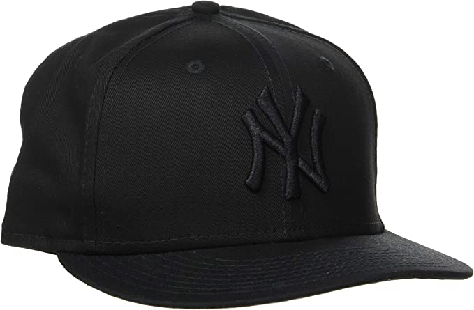 New Era Mlb 9 Fifty - Gorra unisex, color negro/ negro, talla S ...
