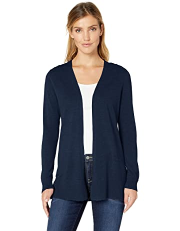 3432952e25 Amazon Essentials Women's Lightweight Open-Front Cardigan Sweater