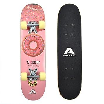 16ee02116aa56 Apollo Skateboard Donut pour Enfants de la Marque
