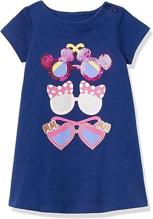 Spotted Zebra Girls Disney Star Wars Marvel Frozen Princess Knit Short-Sleeve Tutu Dresses Brand