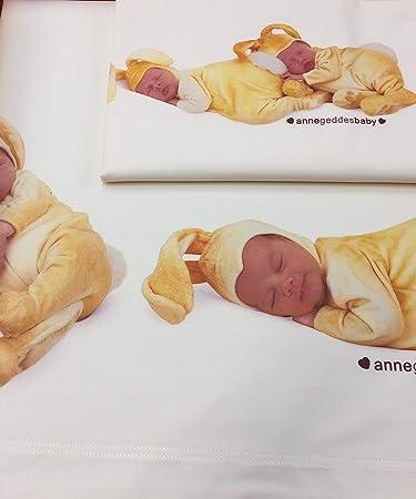 Set Lenzuola Lettino Anne Geddes Baby Bunnies Giallo: Amazon ...