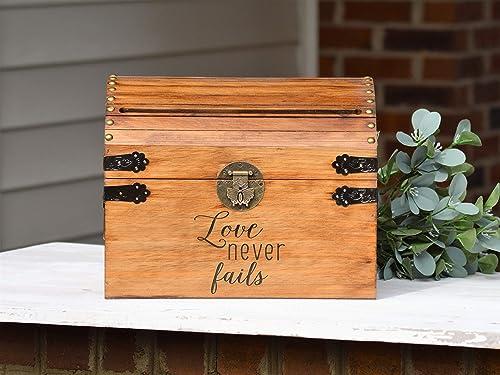 Love Never Fails Wedding Card