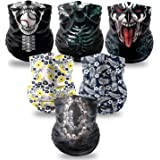 Elimoons Neck Gaiters for Men&Women,Breathable Balaclava,UV Protection Face Cover Gaiter
