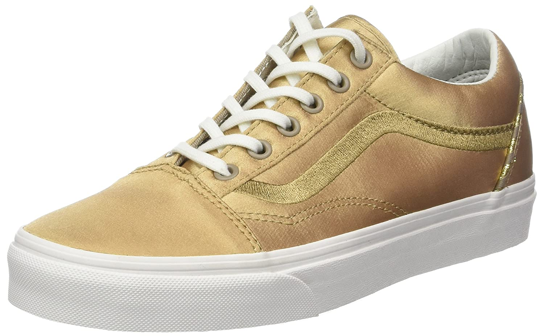 Vans Damen Old Skool Dx Sneaker Gold (California Souvenir/ Greige/Blanc De Blanc)