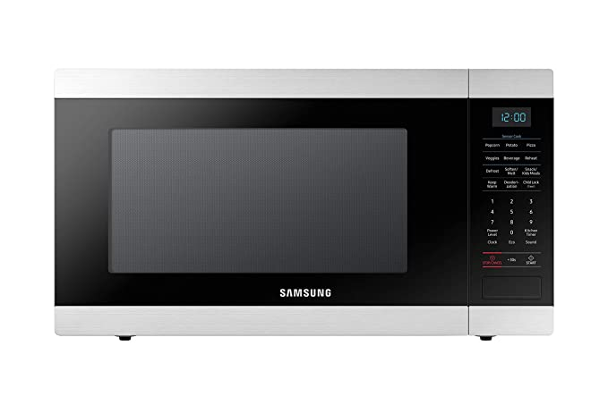 Amazon.com: Samsung MS19M8000AS/AA Horno de microondas de ...