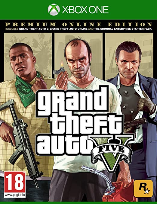 Grand Theft Auto V - Premium Online Edition: Amazon.es: Videojuegos