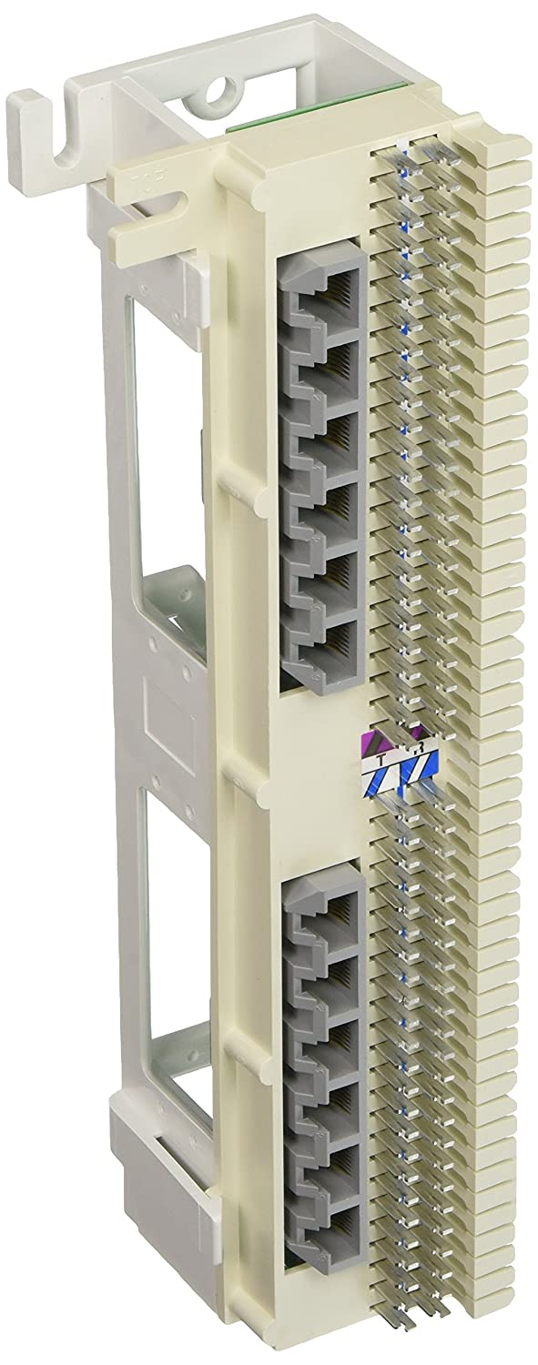 HUBBELL BR258066A 66-block with 12 Modular 8-position jacks