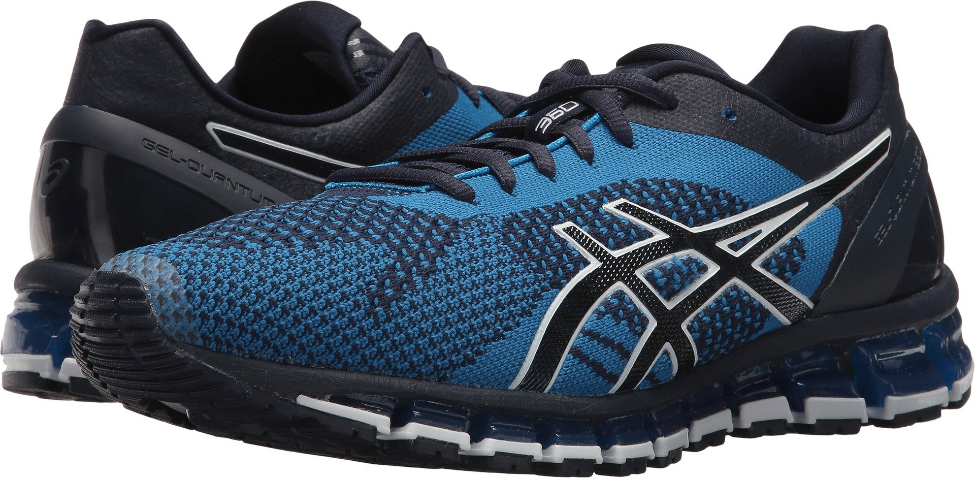 ASICS Men's Gel-Quantum 360 Knit Knit Peacoat/Blue/White 10 D US
