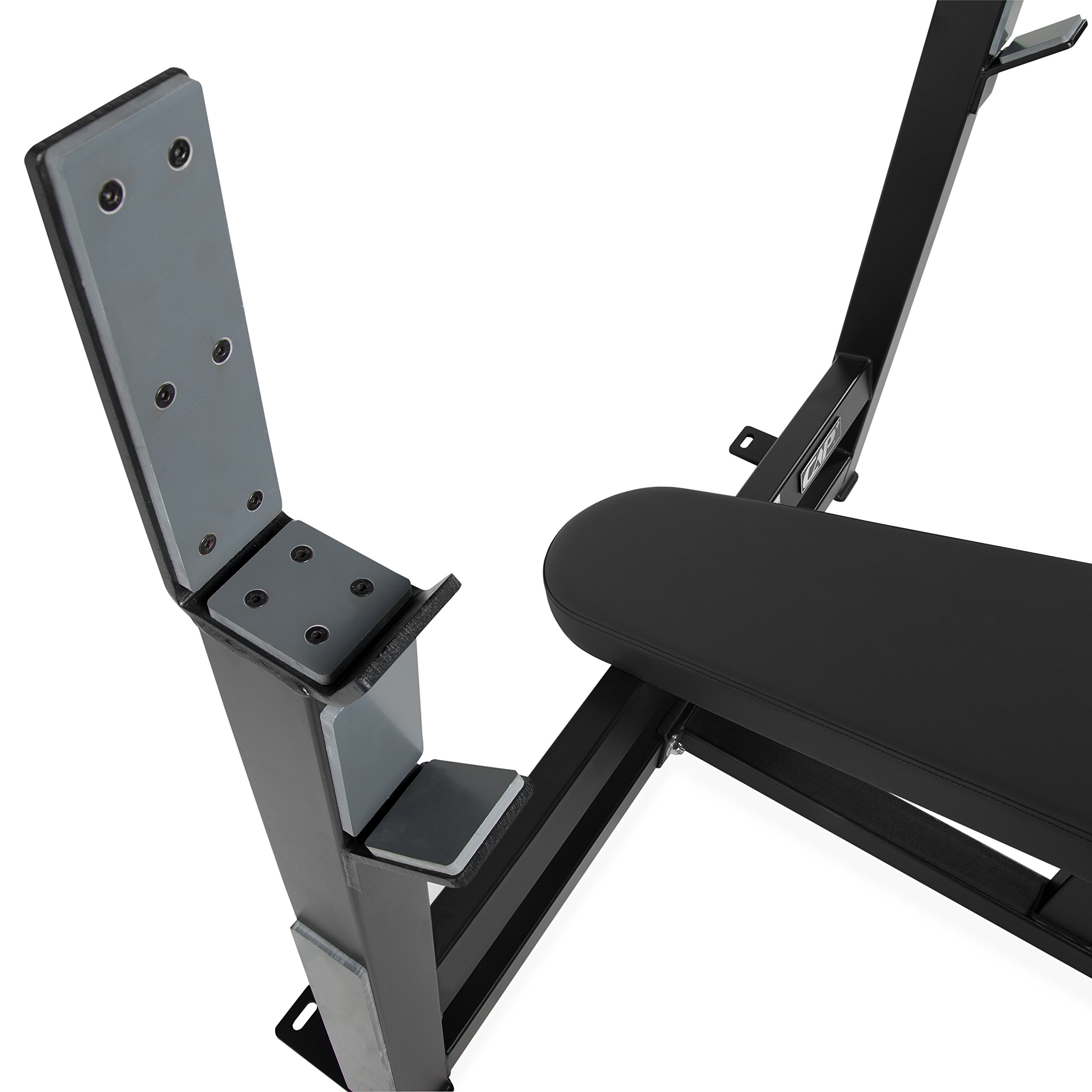 CAP Barbell 300-Pound Black Olympic Grip Set with Olympic Decline Bench by CAP Barbell (Image #3)