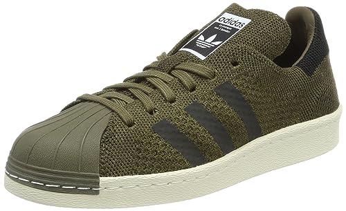 save off a74a9 1cc2f adidas Unisex-Erwachsene Superstar 80s Primeknit Sneaker