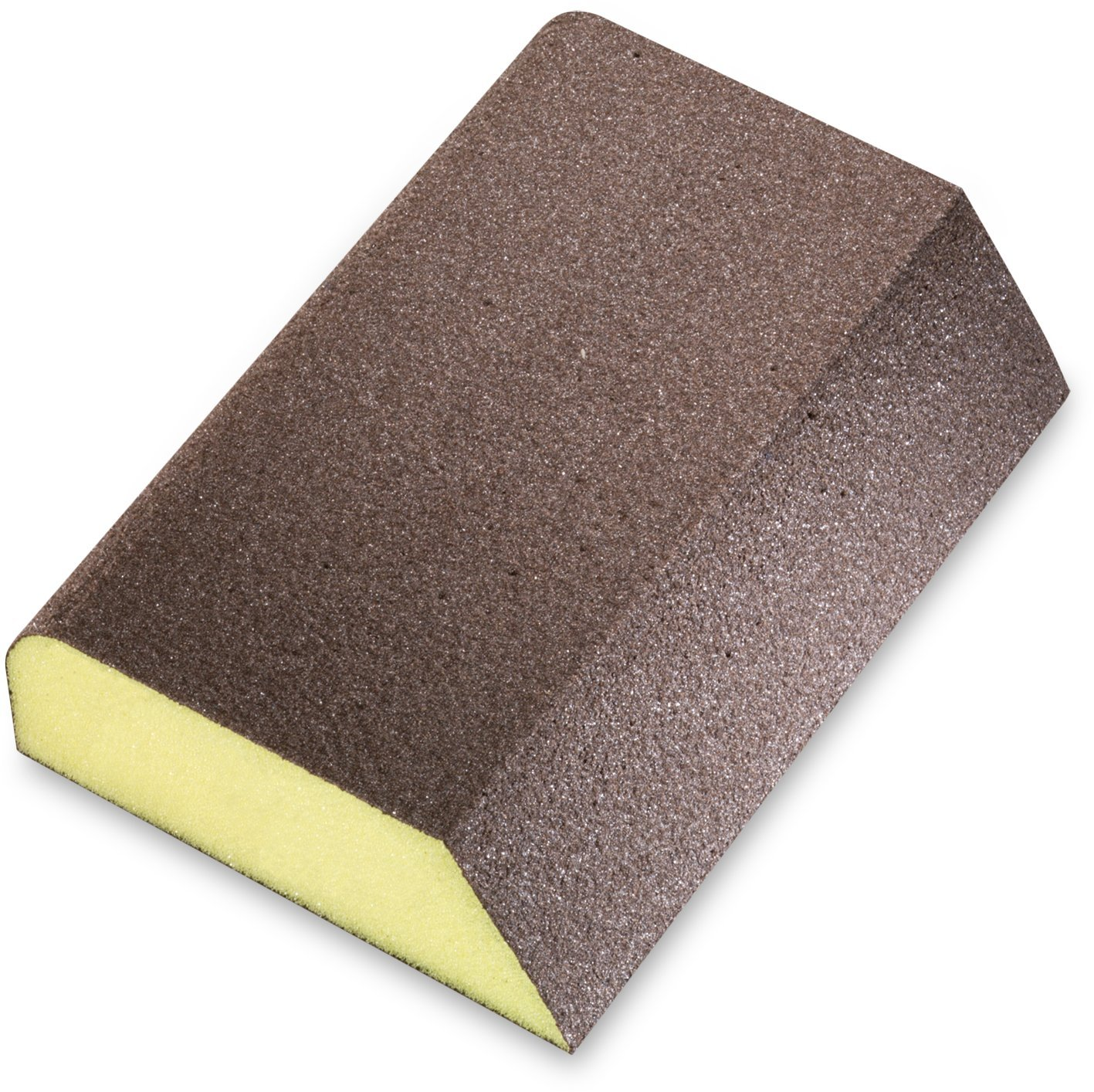 SIA Abrasives 0070.1230.01 Series 7990 siasponge Combi-Block Hard Abrasive, PUR Backing, Aluminum Oxide Grit, Coated 4 Sides, Fine Grade, 2-3/4'' W, 3-3/4'' L, 1'' Thick (Pack of 10)