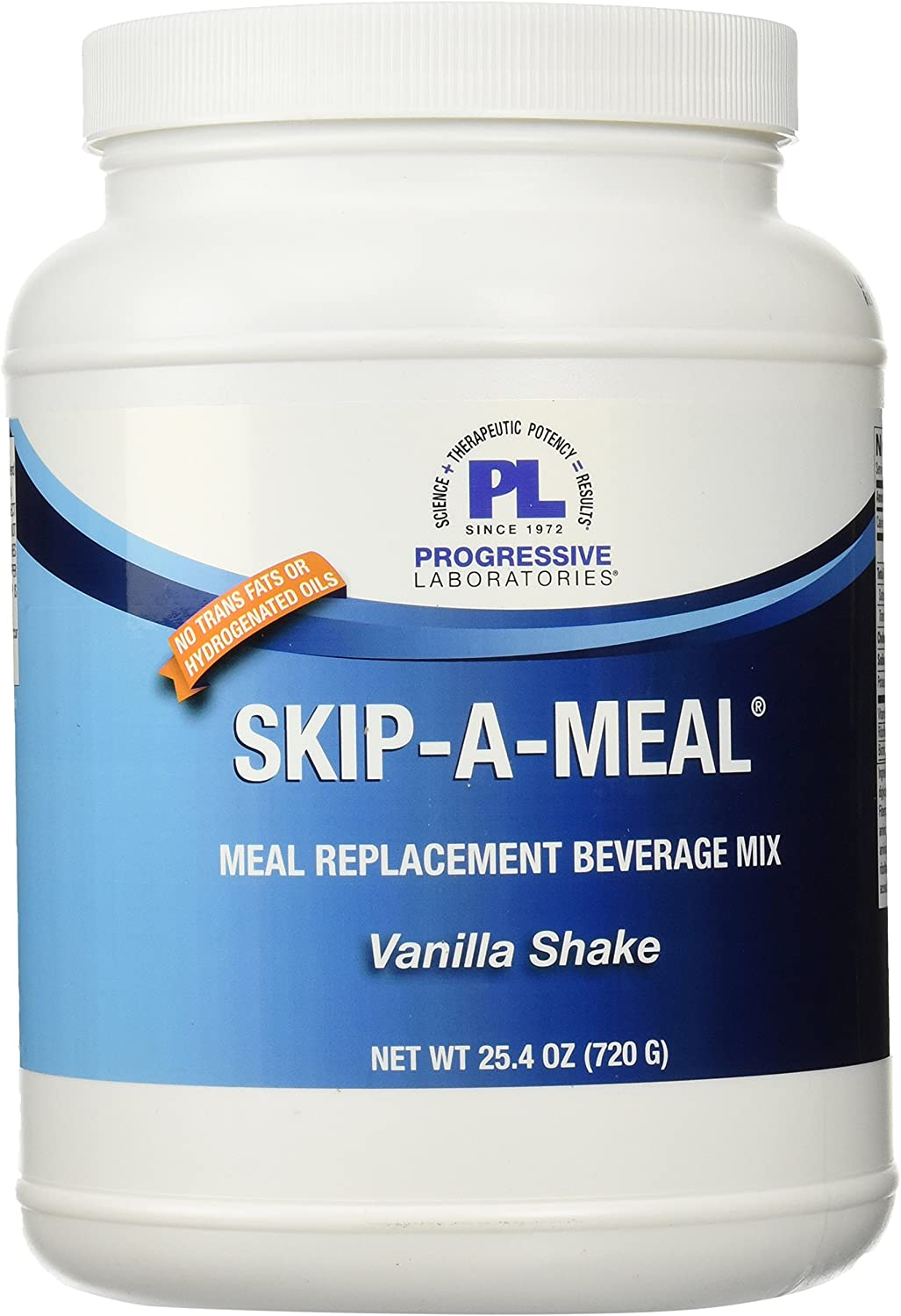 Progressive Labs Skip-A-Meal Vanilla Supplement, 25.4 Ounce
