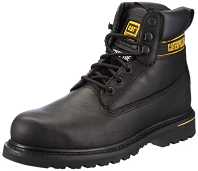 CAT Footwear Holton Steel Toe Men&39s Work and Safety Boots: Amazon