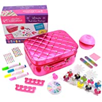 Playtime by Eimmie Ultimate Nail Glam Boutique - Girl Nail Polish Set - Nail Art for Kids Ages 8 and Up