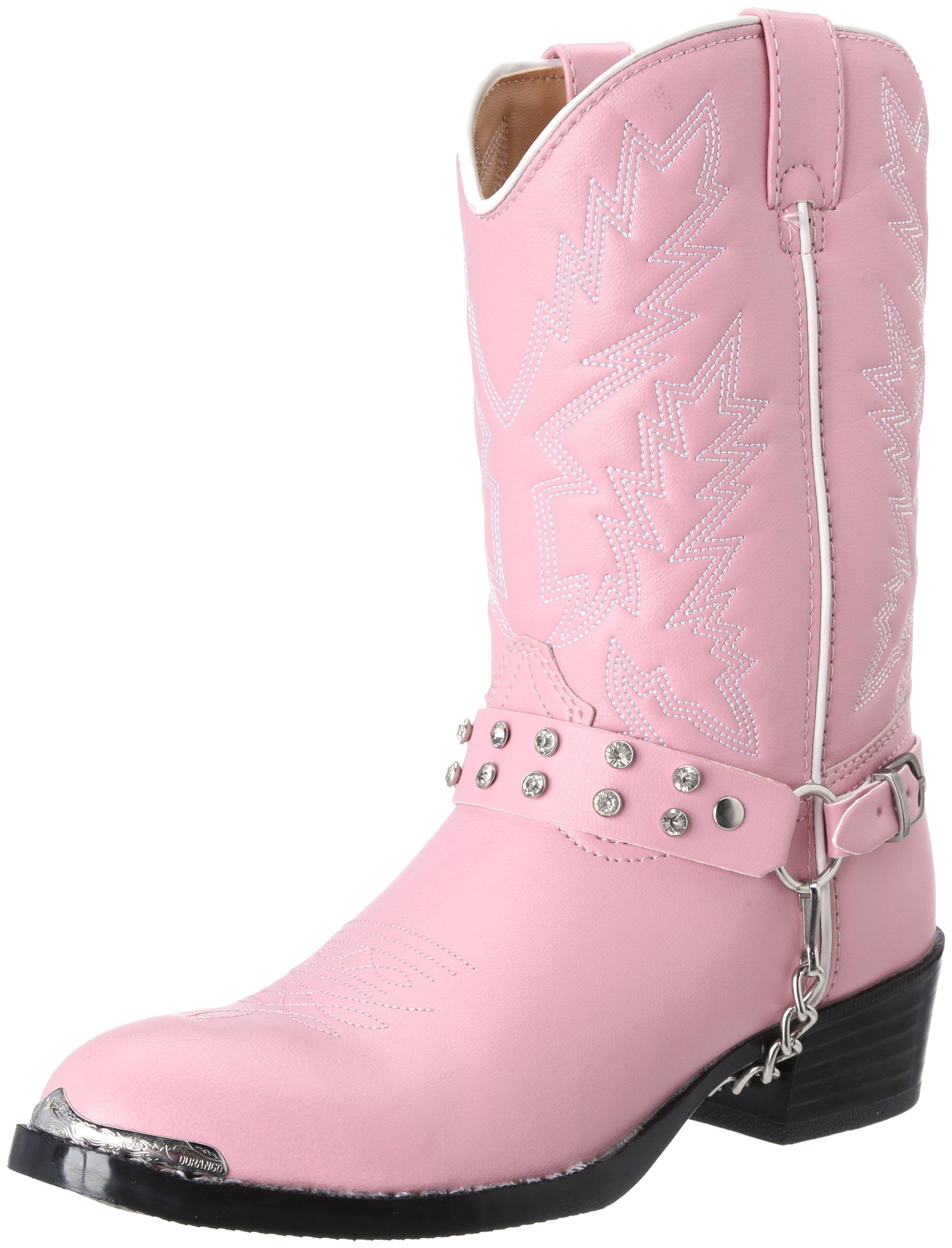 Durango Kids BT668 Lil' 8 Inch,Pink Bling,4 D