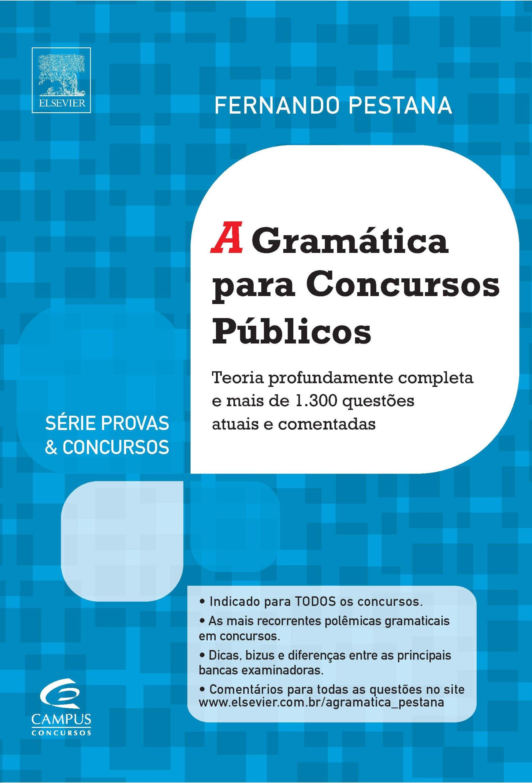 A Gramática Para Concursos - Série Provas e Concursos (Em ...